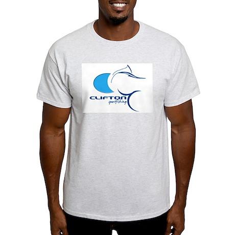Clifton sportfishing Ash Grey T-Shirt