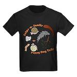 A Boy's Blend Kids Dark T-Shirt