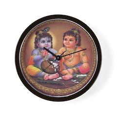Krishna 4 Wall Clock
