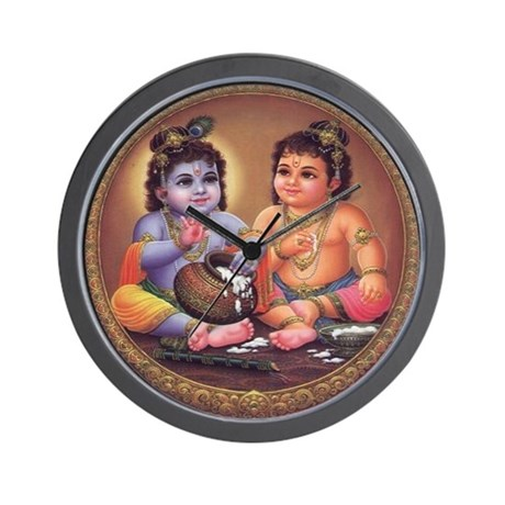Krishna 4 Wall Clock