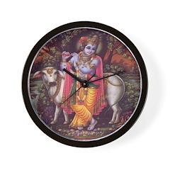 Krishna 3 Wall Clock