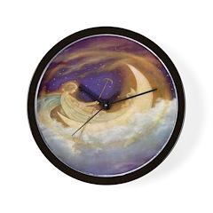Moonboat Wall Clock