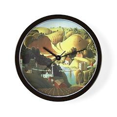 Stone City, Iowa Wall Clock