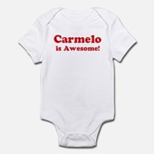 Carmelo is Awesome Infant Bodysuit