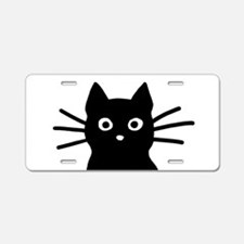 Cool Fun cat lover Aluminum License Plate