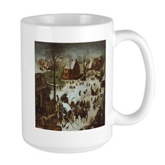 The Village in Winter Mug