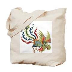 Chinese Phoenix Tote Bag