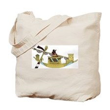 Ancient Egyptian Boat Tote Bag