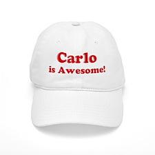 Carlo is Awesome Baseball Cap