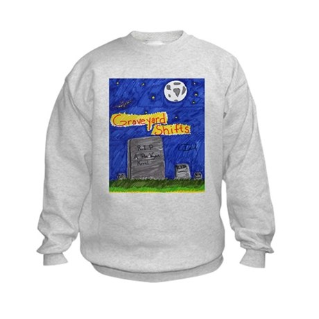 Graveyard Shifts Kids Sweatshirt