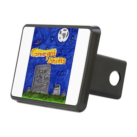 Graveyard Shifts Rectangular Hitch Cover