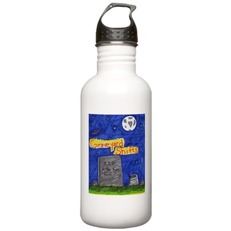 Graveyard Shifts Stainless Water Bottle 1.0L