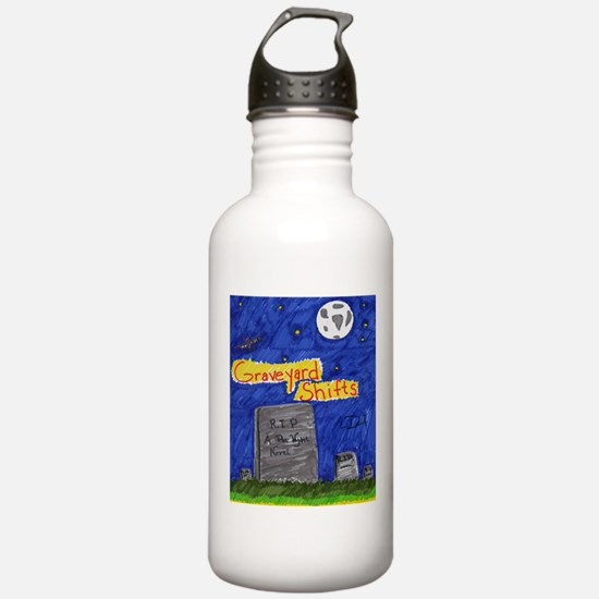 Graveyard Shifts Water Bottle