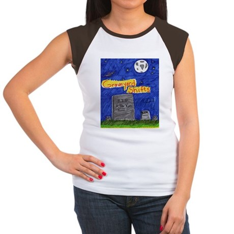 Graveyard Shifts Women's Cap Sleeve T-Shirt