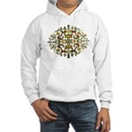 Indian Floral Hooded Sweatshirt