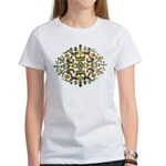 Indian Floral Women's T-Shirt