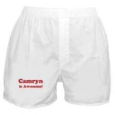 Camryn is Awesome Boxer Shorts