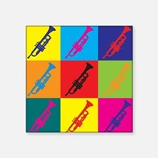 Trumpet Pop Art Sticker