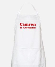 Camron is Awesome BBQ Apron