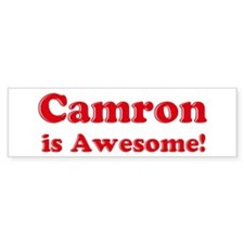 Camron is Awesome Bumper Bumper Sticker