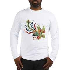 Chinese Phoenix Long Sleeve T-Shirt