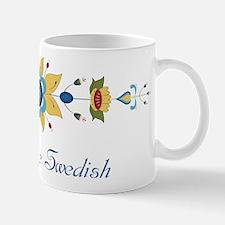 Scandinavian Floral Border Mug