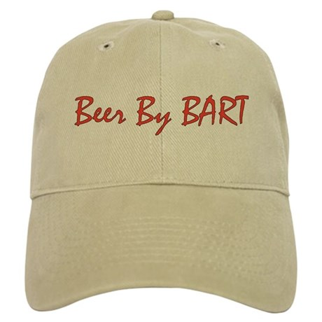 Beer By BART red logo Baseball Cap