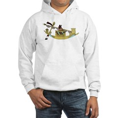 Ancient Egyptian Boat Hoodie