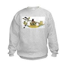 Ancient Egyptian Boat Sweatshirt