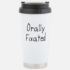 Orally Fixated Stainless Steel Travel Mug