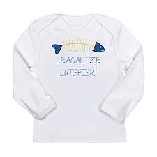 Legalize Lutefisk Fish Long Sleeve T-Shirt
