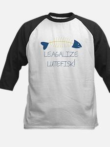 Legalize Lutefisk Fish Baseball Jersey