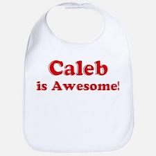 Caleb is Awesome Bib
