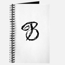Cafe Latte Monogram B Journal
