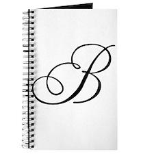 Champagne Monogram B Journal