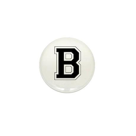 Collegiate Monogram B Mini Button (10 pack)