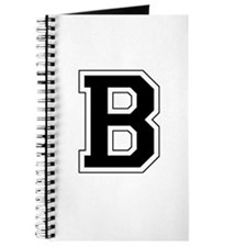 Collegiate Monogram B Journal