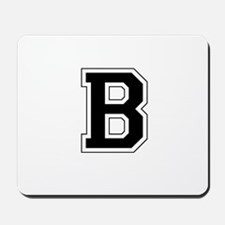 Collegiate Monogram B Mousepad