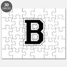 Collegiate Monogram B Puzzle