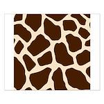 Giraffe Print Small Poster