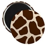 Giraffe Print Magnet