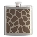 Giraffe Print Flask