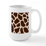 Giraffe Print Large Mug