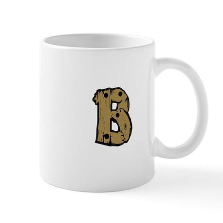 Drift Wood Monogram B Mug
