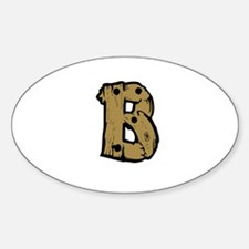Drift Wood Monogram B Decal