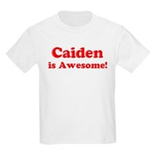 Caiden is Awesome Kids T-Shirt