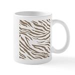 Cocoa Zebra Print Mug
