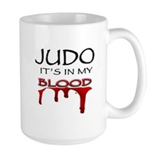 Judo It's in my blood Mug