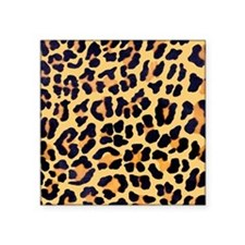 Cheetah Print Square Sticker 3