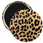 Cheetah Print Magnet